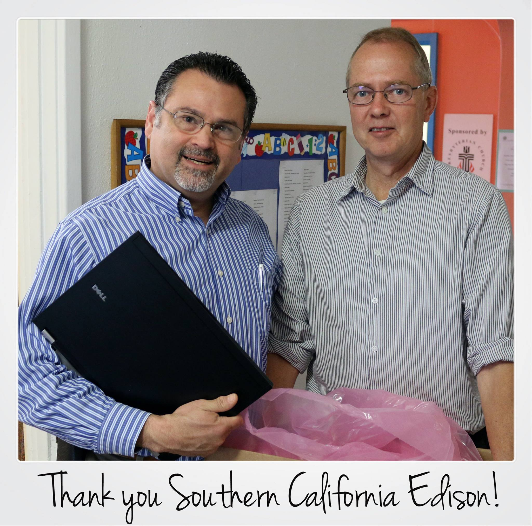 Laptop Donation from Southern California Edison